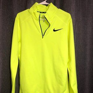 Nike Neon Yellow Quarterzip